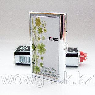 Портсигары Zippo №17 - Green flower