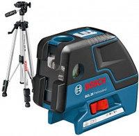 Комби-лазер (линейный + точечный) Bosch GCL 25 + BS 150