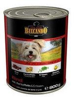 513505 BELCANDO Best Quality Meat, Белькандо влажный корм для собак с высококачественным мясом, банка 800 гр.