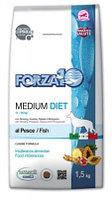 11731 Forza10 Medium Diet pesce, Форца10 диетический корм из рыбы для собак средних пород, 12кг.