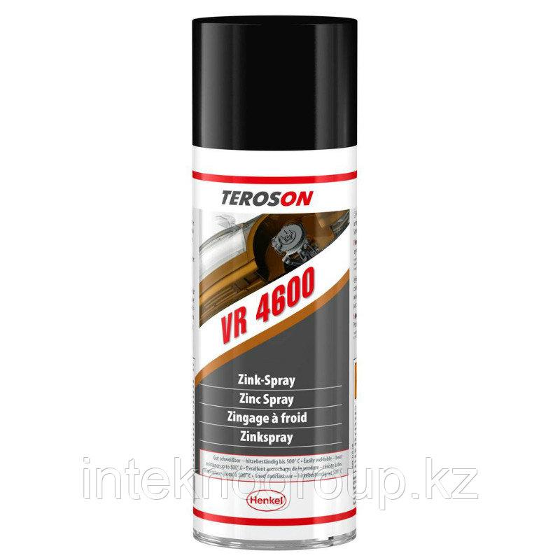 Teroson VR 4600 400ml, Антикоррозийный цинковый спрей, (холодное цинкование)