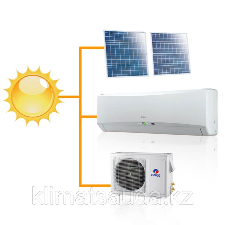 Кондиционер настенный на солнечных панелях Gree-12: Solar series R410A GWH12TB-K3DNA1F