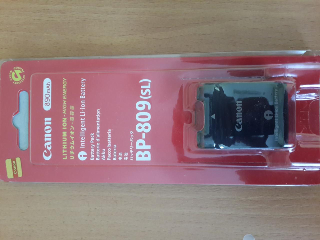 Аккумулятор CANON BP-809 гарантия 12 месяцев