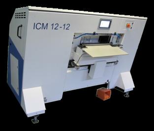 ICM-12: полуавтоматическая алфавитная/индексная высечка