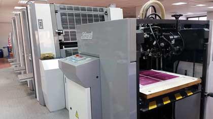 Sakurai Oliver 475SD б/у 2004г - четырехкрасочное печатное оборудование