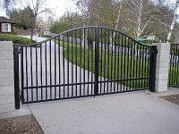 Ворота металлические в Астане