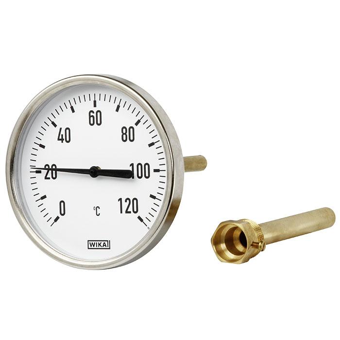 Термометр А5001 G1/2B NG 80 мм, WIKA