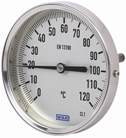 Термометр A52.01 G1/2B NG 80 мм, WIKA