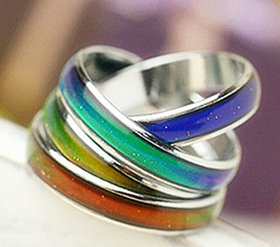 Кольцо настроения! Волшебное кольцо, которое меняет цвет! Хамелеон