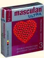Презервативы Masculan ultra двойная защита