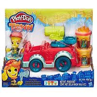 PLAY-DOH Игровой набор Пожарная машина, фото 1