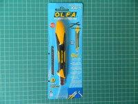 """Нож OLFA """"Standard Models"""" с выдвижным лезвием, с противоскользящим покрытием, автофиксатор, 9мм"""