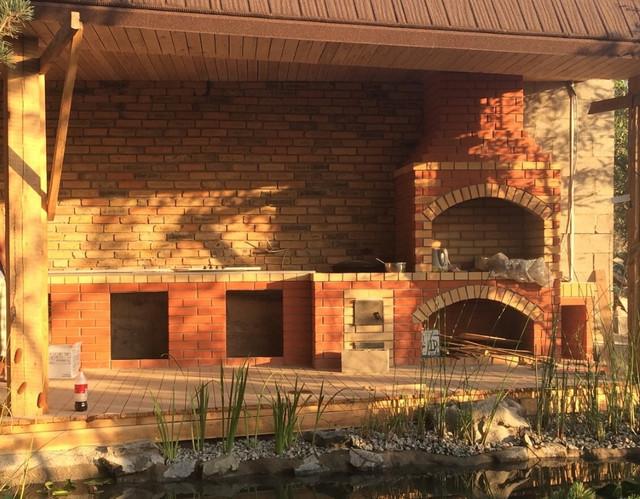 Строительство летних кухонь