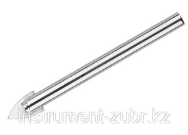 Сверло по кафелю, керамике, стеклу, с двумя режущими лезвиями, цилиндрический хвостовик, 6 мм, URAGAN 29830-06