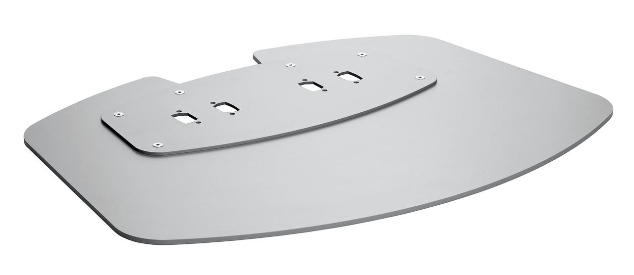 Vogels PFF 7030 Напольная пластина XL, цвет серебро