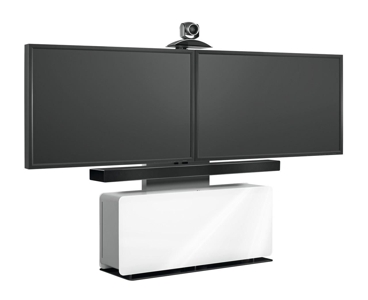 Мобильная стойка Vogels PVF 4112 (мебель для видеоконференций) цвет белый
