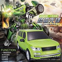 Радиоуправляемый робот Jia Qi TT651 трансформер (зеленый)