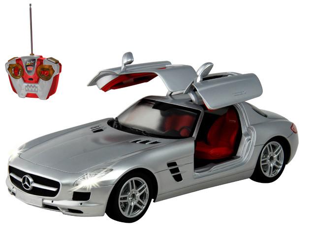 Машина радиоуправляемая Mercedes-Benz SLS AMG с рулём управления масштаб 1:14