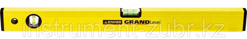 """Уровень STAYER """"PROFI"""", """"GRAND"""" особо усиленный, фрезерован баз поверхность, 2 противоудар ампулы, 120см"""