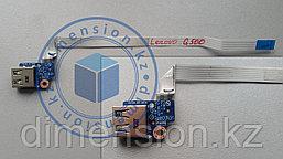 USB порт, плата, разъем lS-9632P LENOVO G500