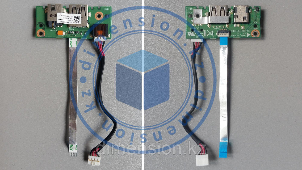 USB порт, плата, разъем питания ASUS X501A F501A X401A