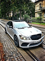 Обвес BlackDesign Evo на S-class W221 Long, фото 1