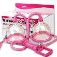 Увеличение груди с помощью помпы (2 чашы)