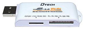 Устройство чтения/записи Dtech Card Reader DT-1024