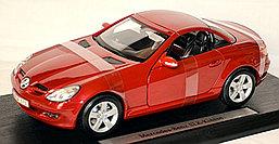 1/18 Maisto Коллекционная модель Mercedes-Benz SLK R171 Roadster Coupe 2004-08