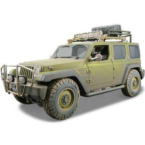 1/18 Maisto Коллекционная модель Jeep Rescue Concept, песчаный дрифт