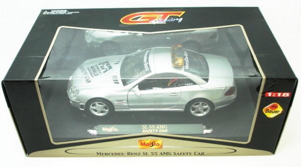 1/18 Maisto Коллекционная модель Mercedes-Benz SL 55 AMG Safety Car