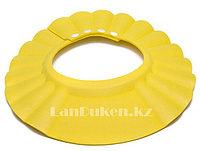 Шапочка козырек для купания детей желтая (чепчик для купания), фото 1