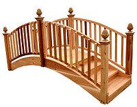 Декоративный мост из дерева