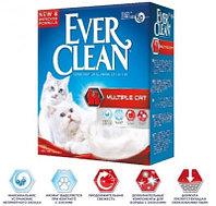 Ever Clean Multiple Cat, Эвер Клин комкующийся наполнитель для нескольких кошек, уп. 10л.