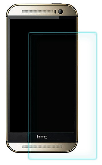 Противоударное защитное стекло Crystal на HTC One M8 mini
