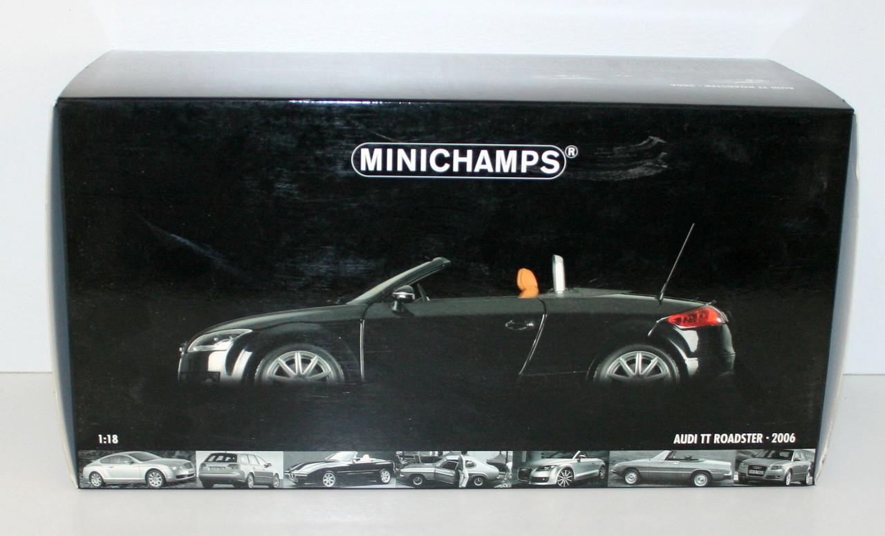 1/18 Minichamps Коллекционная модель Audi TT Roadster - 2006