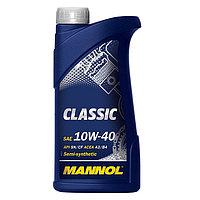 Моторное масло MANNOL Classic 10W40 SN/CF 1L