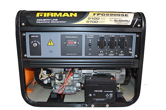 Генератор FIRMAN FPG 5900S
