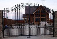Купить металлические ворота Астана