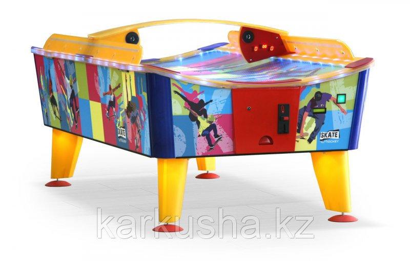 Всепогодный аэрохоккей «Skate» 8 ф (купюроприемник)
