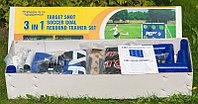 Разборные футбольные ворота с тренировочными сетками «Madcador 3 в 1» (сетка-мишень, сетка-отражатель), фото 1