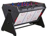 Стол-трансформер «Vortex 3-in-1» (3 игры: аэрохоккей, футбол, бильярд, 127 х 78.7 х 86.4 см, серый), фото 1
