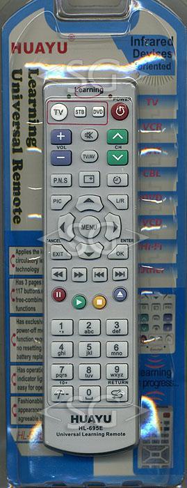 Пульт дистанционного управления универсальный ОБУЧАЕМЫЙ 3in1 HL-695E инструкция на русском языке (блистер)