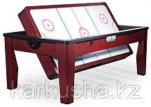 Многофункциональный игровой стол 6 в 1 «Tornado» (коричневый)