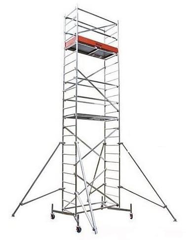 Передвижные подмости Stabilo, рабочая высота 13.4м