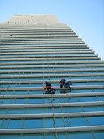 """Мойка окон на здании жилого комплекса """"Северное сияние"""""""