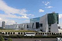 Национальный музей Республики Казахстан. Покраска фасада 35 000 м2, покраска металлоконструкций 7500 м2.