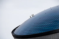 Мойка витража на здании Назарбаев центра 6500 м2