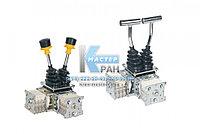 Командоконтроллеры, джойстики промышленные QT7B, RT, XKBA, XKDF, YJ для башенных кранов, мостовых и козловых