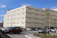 Паркинг ЖК «Керемет». Покраска фасада здания 3500 м2.
